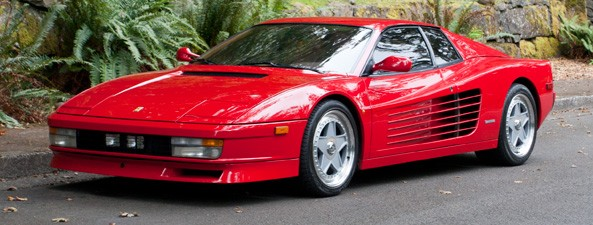 1987 ferrari testarossa sports car shop. Black Bedroom Furniture Sets. Home Design Ideas