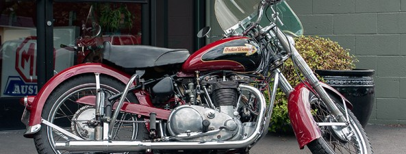 Indian Motorcycle Vintage >> 1951 Indian Warrior | Sports Car Shop