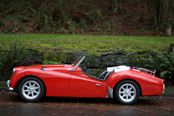 1961 Triumph TR3 Overdrive | Sports Car Shop