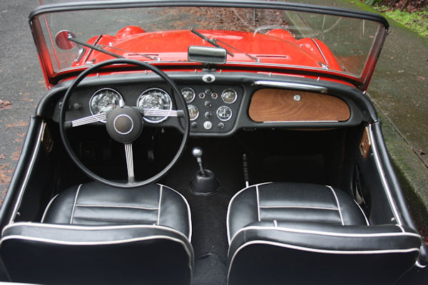 1961 triumph tr3 overdrive steering wheel
