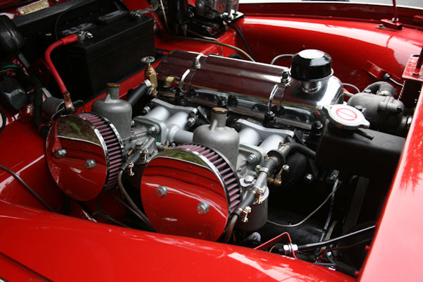 1961 triumph tr3 overdrive engine