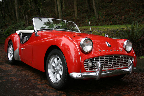1961 triumph tr3 overdrive show condition