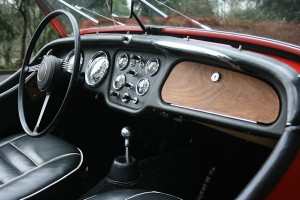 1961 triumph tr3 overdrive british car gauges
