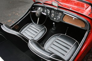 1961 triumph tr3 overdrive leather seats