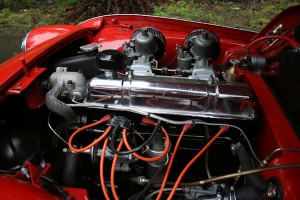 1961 triumph tr3 overdrive fully rebuilt engine