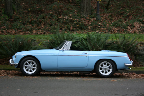 1965 Mg Mgb Mk I Driver Side View