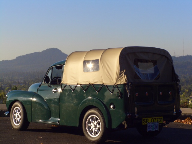 1960 morris minor 1000 pickup well balanced