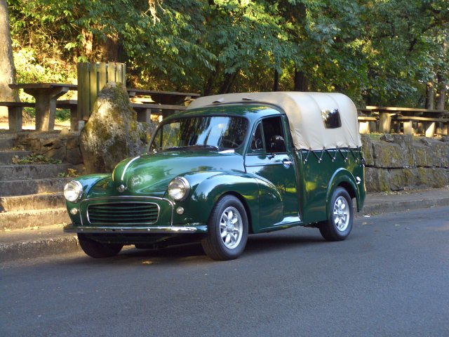 1960 morris minor 1000-pickup great automobile
