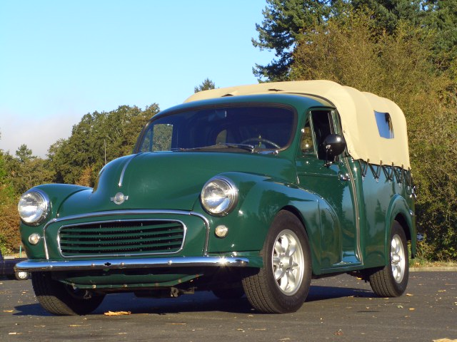 1960 morris minor 1000 pickup soft canopy top