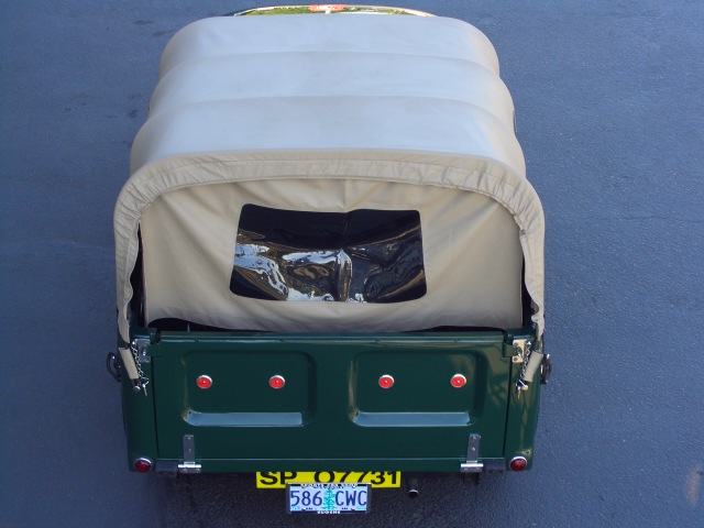 1960 morris minor 1000 pickup hand made canopy