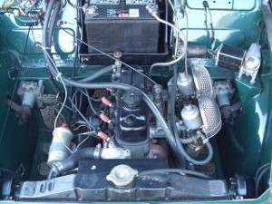 1960 morris minor 1000 pickup 1275cc twin carb