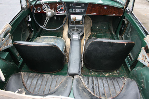 1964 austin healey mk iii 3000 bj8 no sign of accident damage
