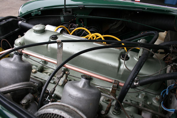 1964 austin healey mk iii 3000 bj8 hd8 su carbs