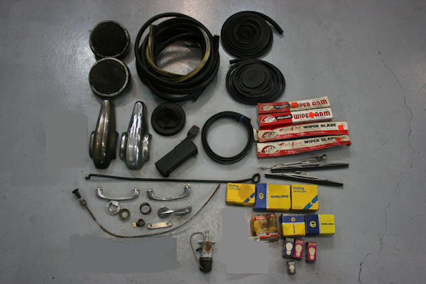1964 austin healey mk iii 3000 bj8 top ready to be fitted