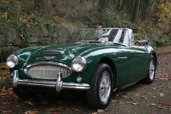 1964 austin healey mk iii 3000 bj8 rare phase one