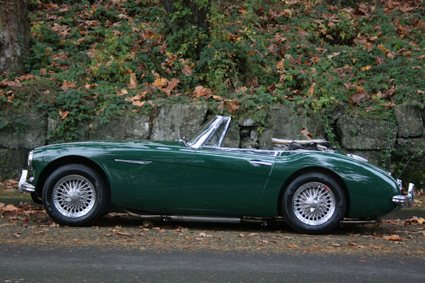 1964 austin healey mk iii 3000 bj8 lower ride height