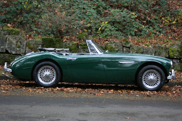 1964 austin healey mk iii 3000 bj8 sleeker look