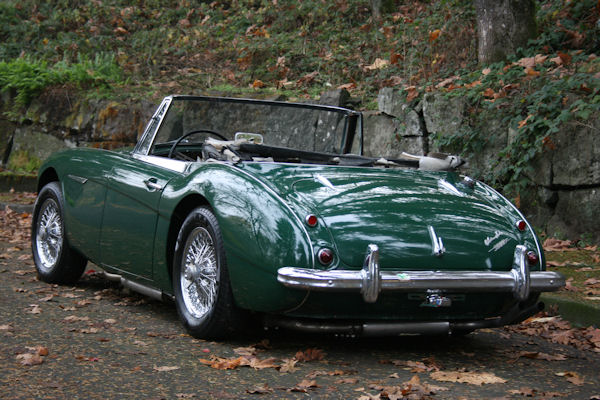 1964 austin healey mk iii 3000 bj8 classic sports car