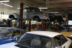 British Car Repair in Eugene, Oregon at Sports Car Shop