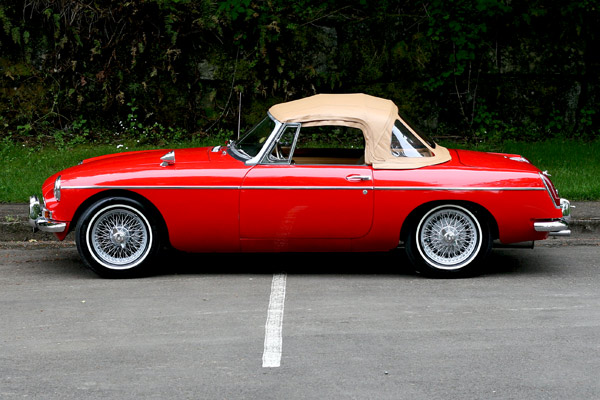 1963 Mg Mgb For