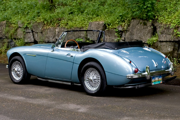 1965 Austin Healey 3000 Bj8 Sports Car Shop