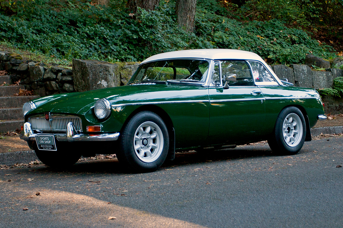 1966 Mg Mgb With Hardtop Sports Car Shop
