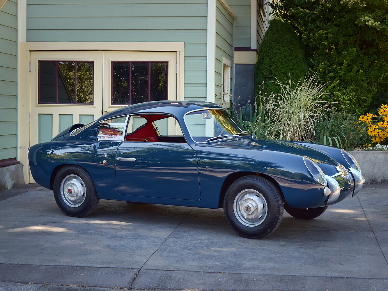 Restored 1958 Fiat Abarth 750 Zagato Sports Car Shop