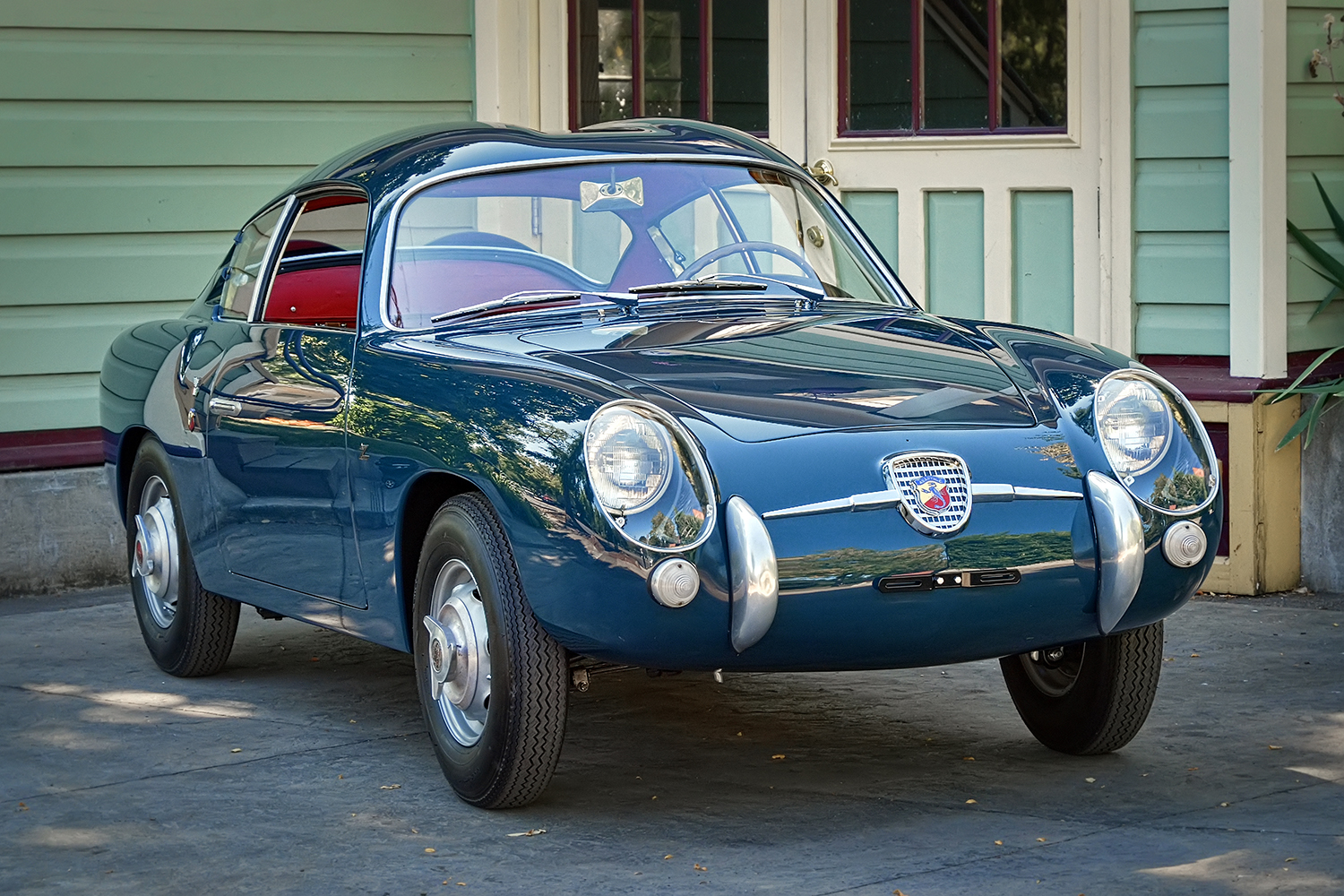 Restored Fiat Abarth Zagato Sports Car Shop