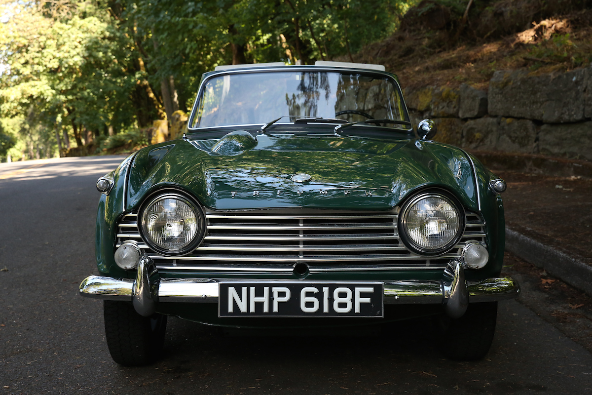 1967 Triumph TR4A | Sports Car Shop