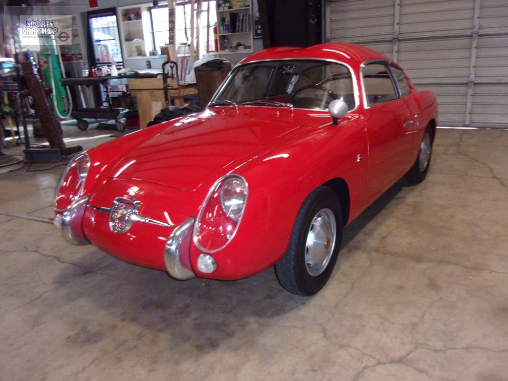 Abarth Double Bubble Goes Home Sports Car Shop