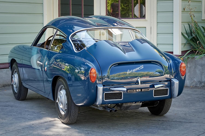 Restored 1958 Fiat Abarth 750 Zagato