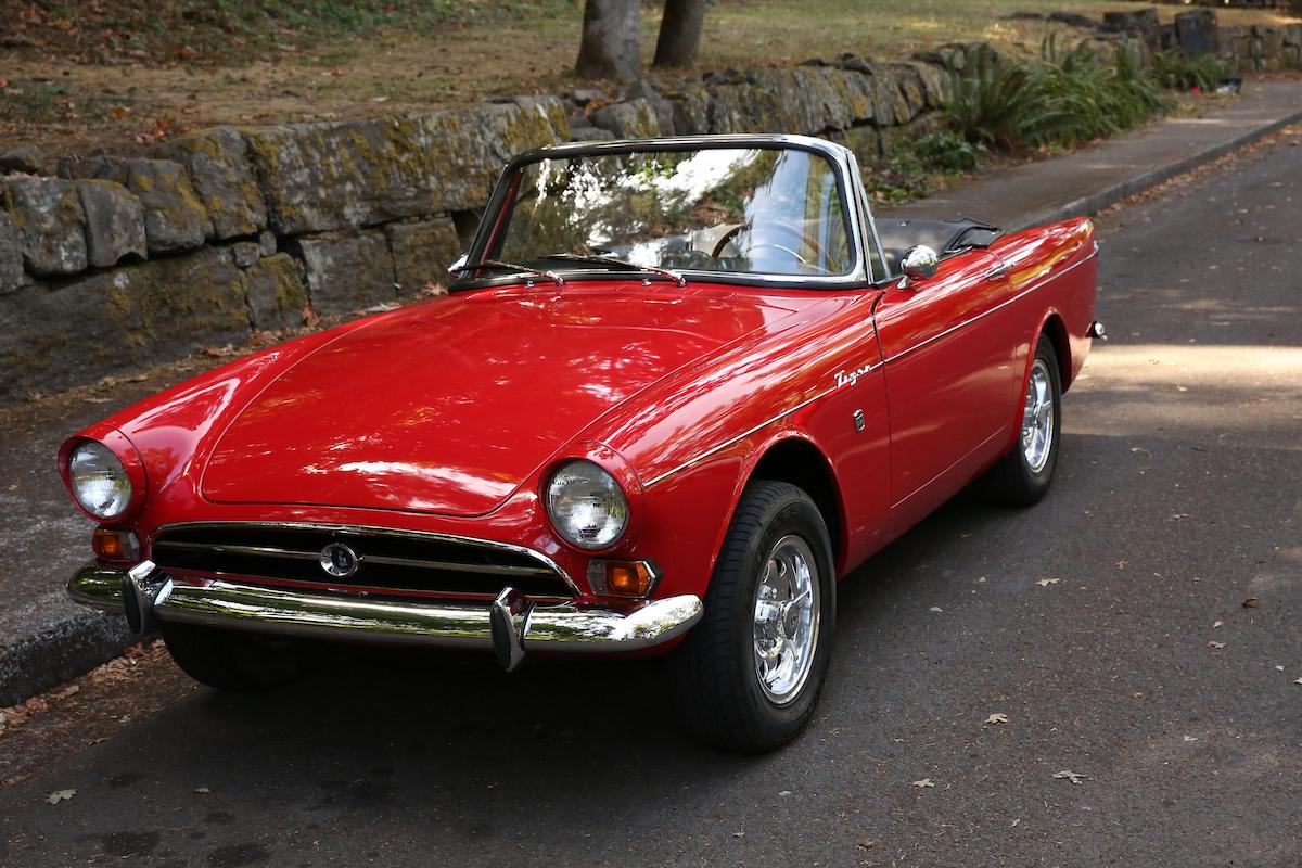 Auto Paint Shop >> 1965 Sunbeam Tiger | Sports Car Shop